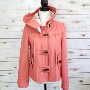 """Anthropologie Elevenses """"First Frost"""" Peacoat"""